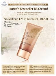 ขนาดปกต 50ml welcos no makeup face blemish balm spf30 pa whitening 50 ml image