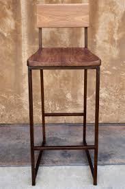 wood metal counter or barstool