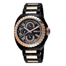 11941jstbr 02m mens black trooper rose gold watch police 11941jstbr 02m mens black trooper rose gold watch