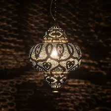 moroccan inspired lighting. Sultan Pierced Metal Hanging Lamp These Moroccan-inspired Lamps, With Their Hundreds Of Perforations, Look Magical When Lit! \ Moroccan Inspired Lighting A