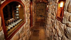 home wine room lighting effect. home wine room lighting effect to access the cellar guests climb down a spiral wroughtiron 5