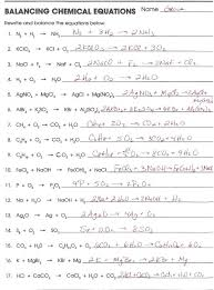 balancing chemical equations worksheet answer key new page stock on balancing chemical equations answers fresh writing