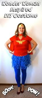 Wonder Woman Costume Pattern Awesome DIY Wonder Woman Inspired Costume Creative Ramblings
