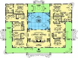 l shaped house plans with courtyard best of spanish style house plans with courtyard garden home