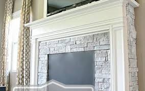 heat fireplace mantels plans without faux shelf diy vintage heater stand birch logs electric marble ana