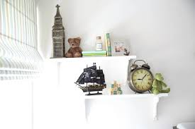 neverland themed nursery shelf accents