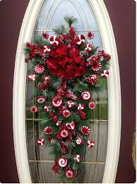 office door christmas decorations. Flowers And Sugar Candy Office Door Decoration For Christmas Decorations