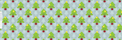 Happy Kawaii Christmas Trees Ask.fm Background