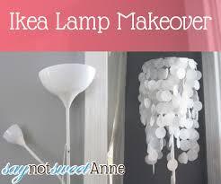 ikea floor lamps lighting. Before \u0026 After Ikea Lamp Makeover Under Five Bucks! Floor Lamps Lighting