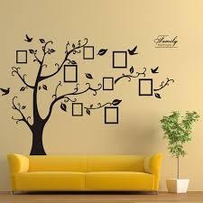 memory tree photo wall sticker living room home decoration creative decal diy mural wall art