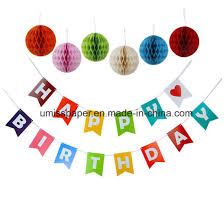 1st birthday banner china umiss 8pcs 1st happy birthday banner honeycomb balls party
