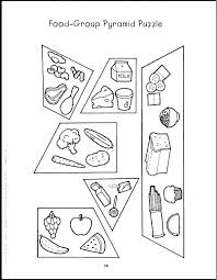 Food Group Pyramid Coloring Page Unique Protein Food Cards For