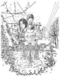 Search through 52183 colorings, dot to dots, tutorials and silhouettes. Stranger Things Coloring Pages Free Printable Of All Characters