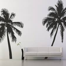 Palm Tree Bedroom Furniture Wall Sticker In Palm Tree Design Cuckooland