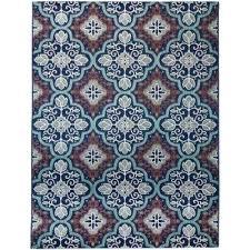 star navy teal 7 ft in x 9 polypropylene outdoor rugs australia n