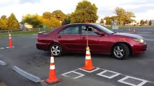 practise parallel parking of a car in nj