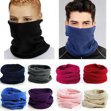 <b>Fleece</b> Cowl/Snood Ski Scarves for Men for sale | eBay