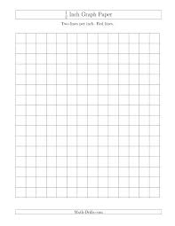 1 2 Inch Grid Paper Printable Graph Paper 1 4 Inch 2 Free 1 2 Grid
