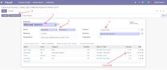 Payroll Timesheets Odoo Apps