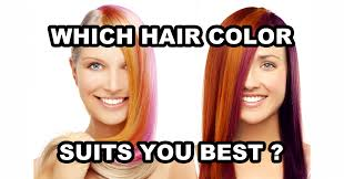 Best Hair Color For Me Quiz