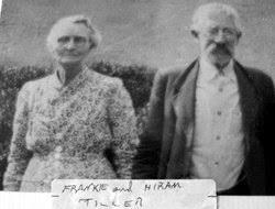 """Frances """"Frankie"""" Ratliff Tiller (1870-1953) - Find A Grave Memorial"""