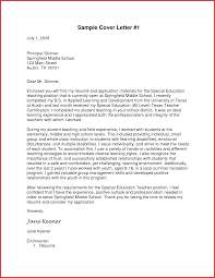 Beautiful Application Letter For School Type Of Resume
