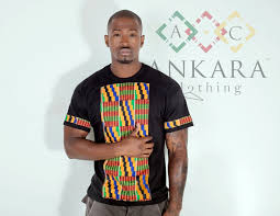 Kente Shirt Designs Ankara Clothing Black Kente Chested Shirt