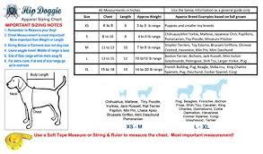 Mini Dachshund Size Chart Hip Doggie Water Repellent Dog Coat Winter Jacket With Fur Lining