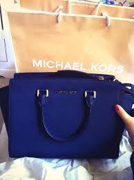 hot michael kors blue handbag c7462 30f33