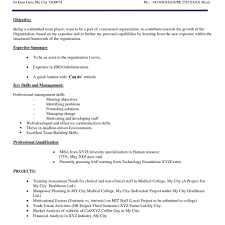 Amazing Hotel Management Resume For Freshers Contemporary Simple