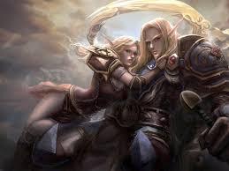 world of warcraft elves hd desktop
