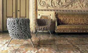 furniture design trends. Wallpaper And Furniture Upholstery In Golden Colors Design Trends E