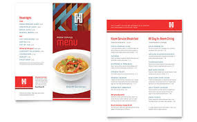 Microsoft Word Restaurant Menu Template Magnificent Make A Menu With Word Or Publisher Download Templates