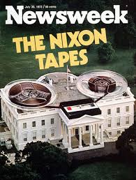 Image result for the existence of president nixon's recorded tapes revealed