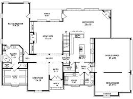 Good Bedroom Bath House Plan Plans Floor Home