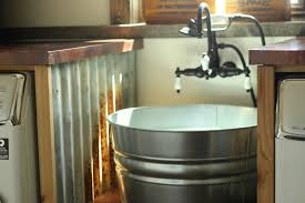 diy wash tub sink for laundry room