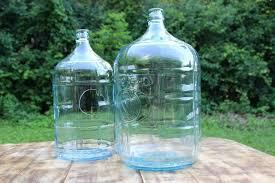 large glass jugs vintique al large glass jug large glass bottle with cork stopper large glass jug