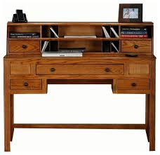 oak ridge writing desk w hutch dark oak dark oak desks and