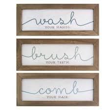 wash brush comb bath art set of 3