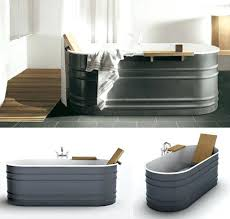 galvanized water trough bathtub stock tank tub need to with marine over ma