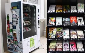 Name A Food You Never See In A Vending Machine Adorable Vending Machines That Sell Books The Perfect Solution For People