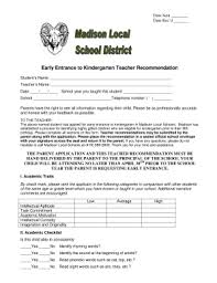 20 Printable Letter Of Recommendation For Teacher From