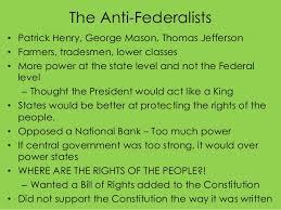 anti federalist vs federalist essay anti federalists vs federalists essay guide