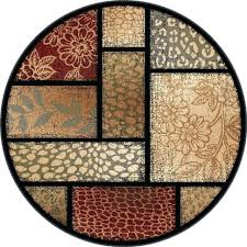 10 foot round rug octagon rugs jute