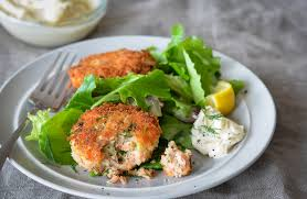 salmon cakes once upon a chef