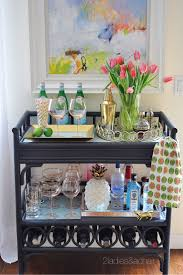 Apr 14 Ideas for Decorating Your Home with Flowers. Bar Cart ...