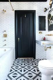 black and white bathroom tiles. Black And White Flooring Bathroom Tile Studio Save Or Splurge Floor Tiles