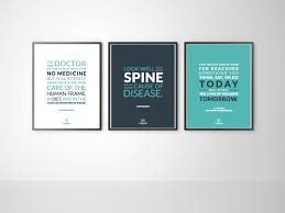 posters for office. Set Of 3 Chiropractic Office Prints \u2014 The Evidence Based Chiropractor- Marketing And Research Posters For