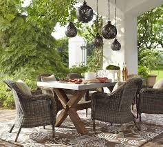 brilliant wicker outdoor dining sets dining table wicker outdoor dining table house design ideas