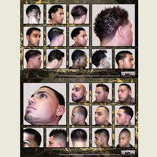 Barbershop Hairstyle Chart Pin On Barbering Trends